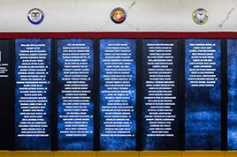 Veterans Memorial Wall