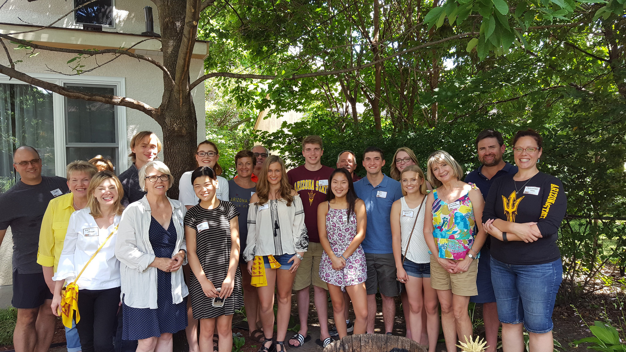 ASU alumni, students and families at Sun Devil Send Off