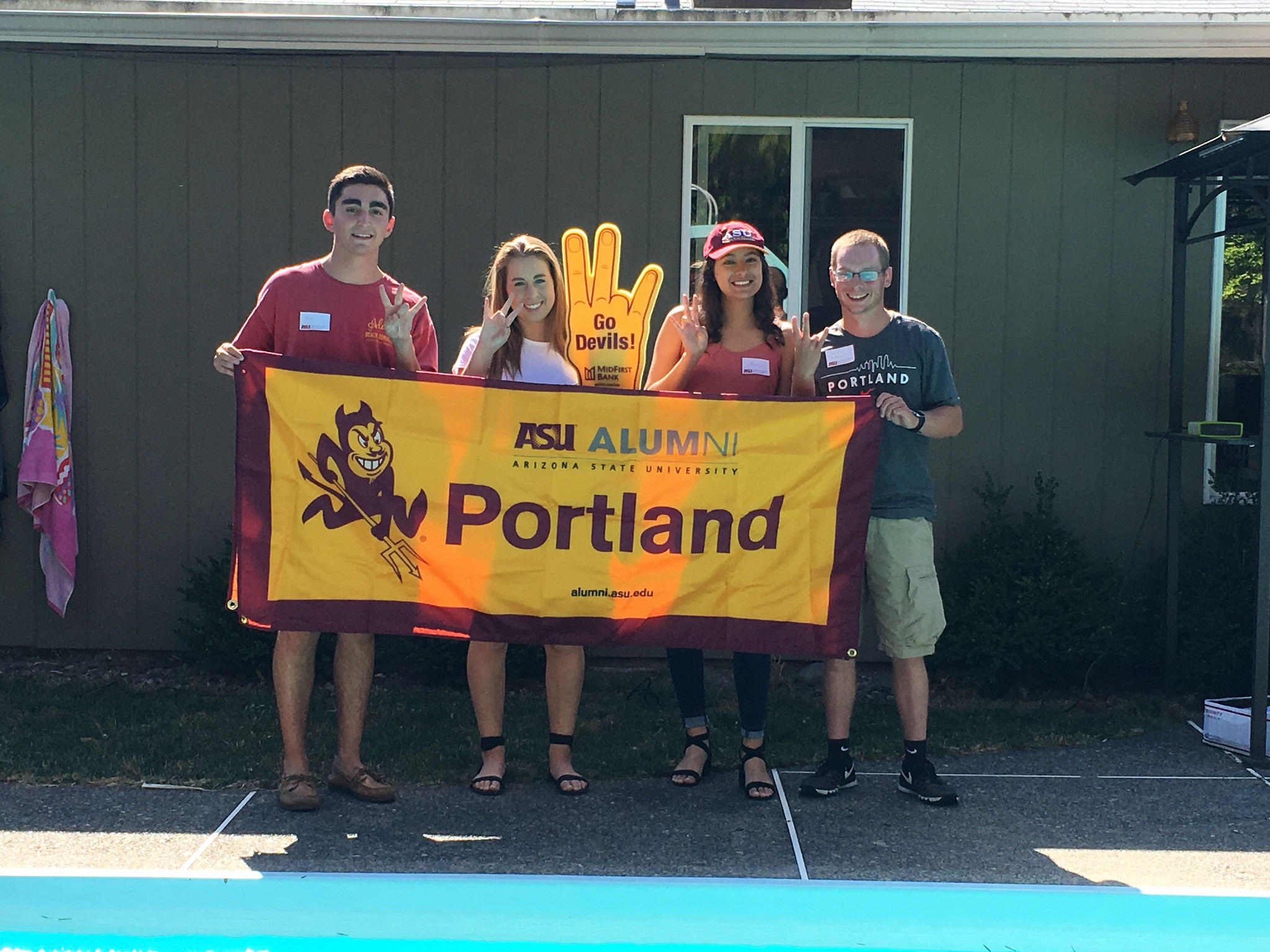 Portland Sun Devil Send Off