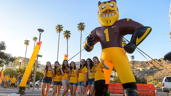 Sparky's touchdown tailgate